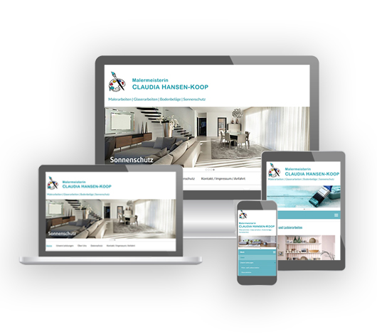 Webdesign von Petersen Design Nordfriesland