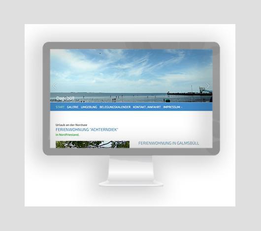 Webdesign von Petersen Design Nordfriesland