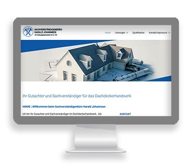 Webarbeiten Harald Johannsen - Risum-Lindholm von Petersen Design
